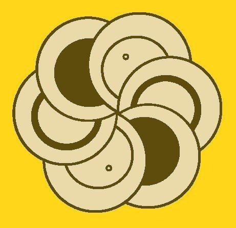 The way it looks more harmonic or balanced.