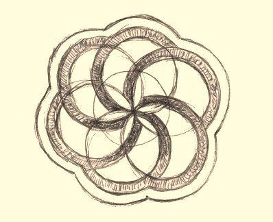 The original design-sketch.