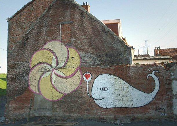 Moby Dick loves art!
